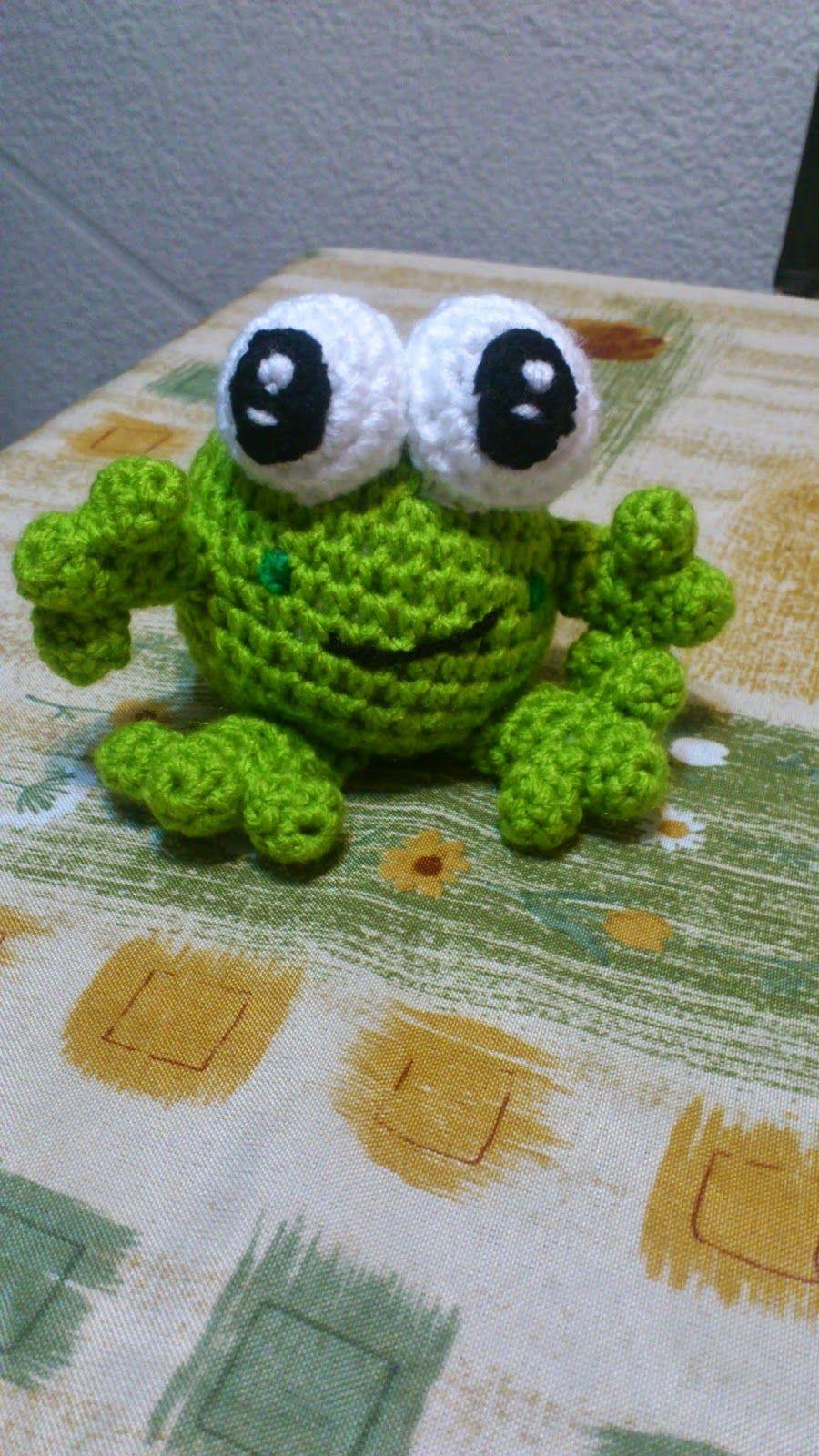 Amigurumi Frog - FREE Crochet Pattern / Tutorial | amigurumi patron ...