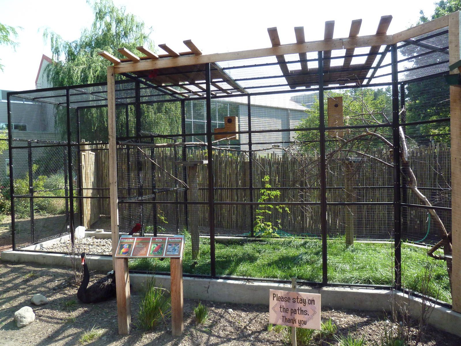 Australia Adventure Bird Aviary Binatang, Kandang