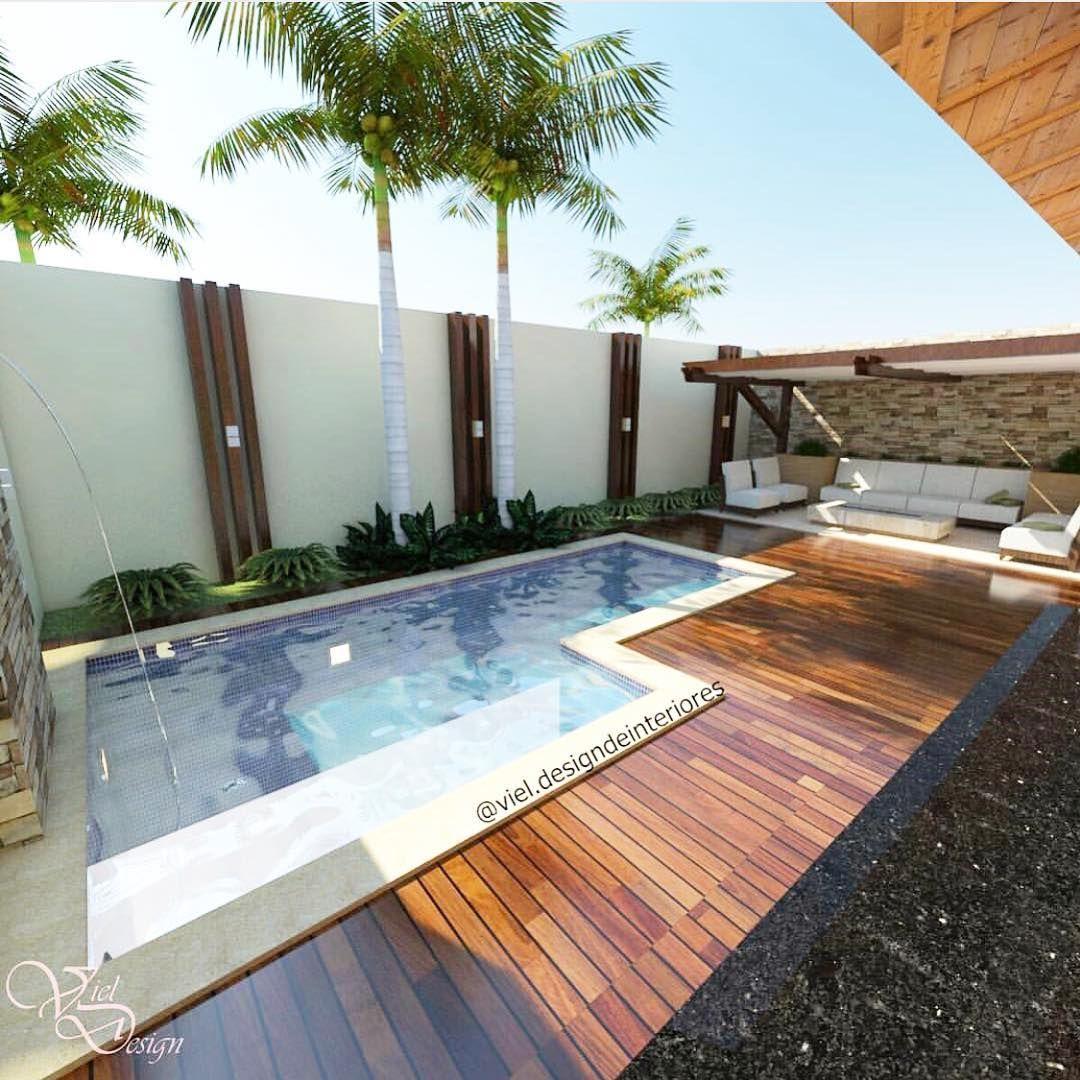 Pin de carlos gastelbondo en gik piscinas casas y patio for Modelos de patios de casas pequenas