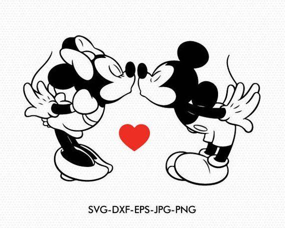 Download Mickey Svg Minnie disney clipart Ears love kiss, Minnie ...
