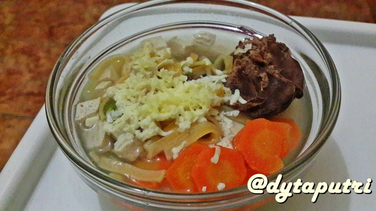 The Dytaputri Resep Mpasi Sup Mie Hati Ayam 11m Resep Makanan Makanan