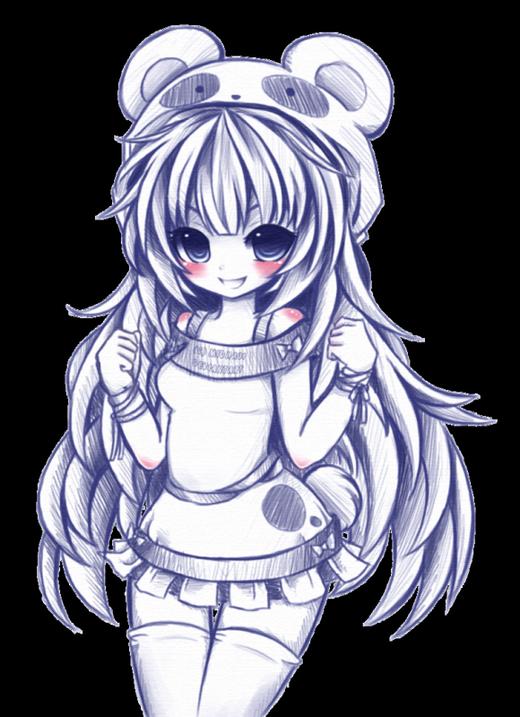 Dessin De Fille Manga : dessin, fille, manga, Belle, Fille, Mangas, Dessin, Manga,, Kawaii,, Coloriage, Manga