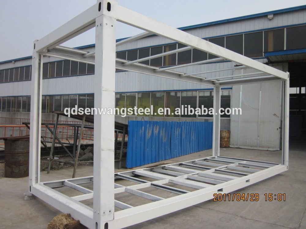 Explosion proof light steel structure module container for Structure container maritime