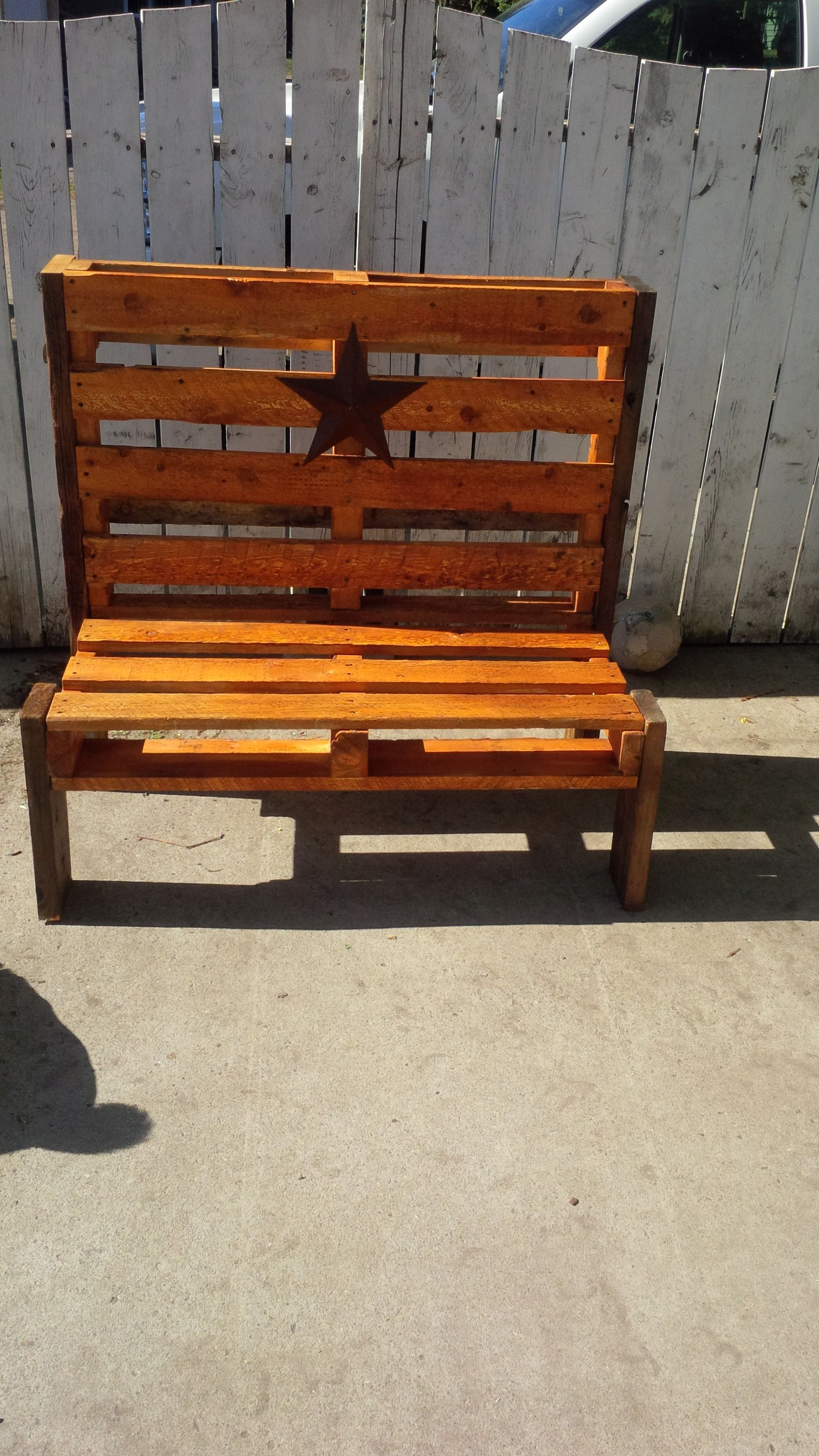 Things To Make Pinterest English Pallet Benches And Pallets. Full resolution  picture, nominally Width 3264 Height 1836 pixels, picture with #C87A03.