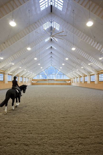 Man ge int rieur cheval pinterest manege int rieur for Manege interieur