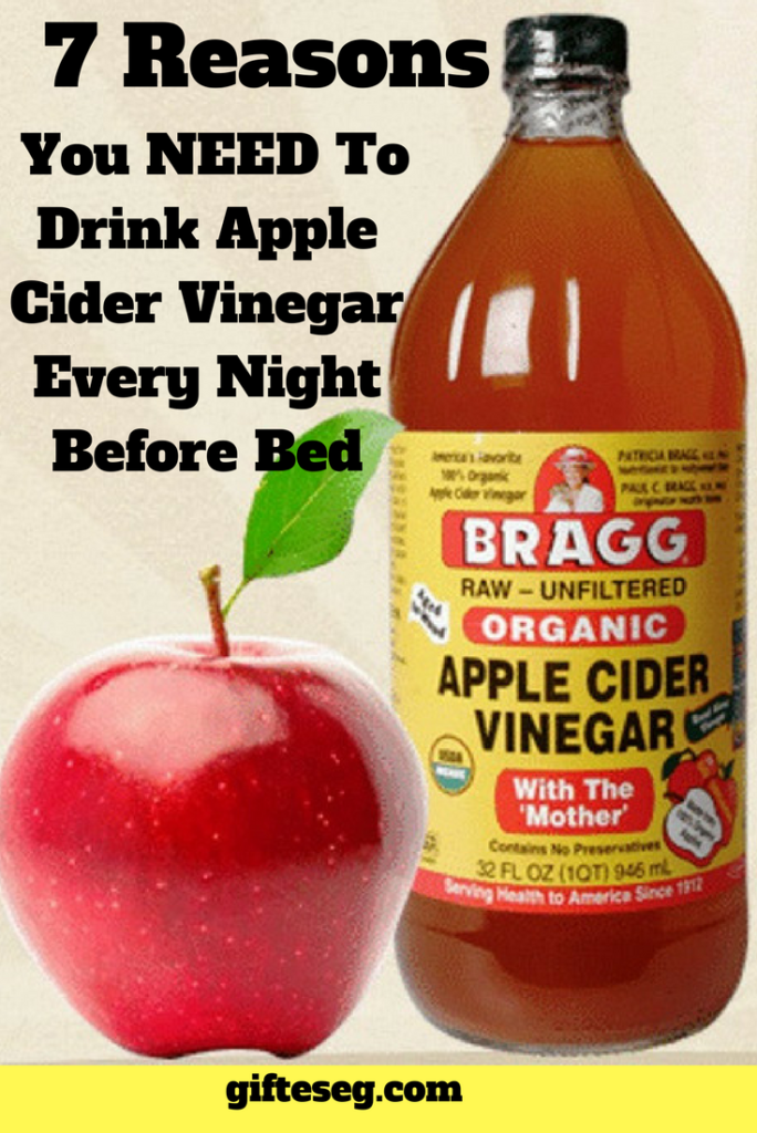 7 Reasons You NEED To Drink Apple Cider Vinegar Every