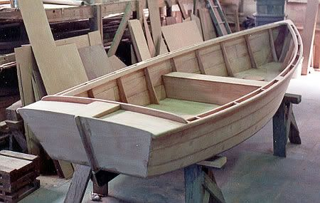 how to make a model canoe out of cardboard