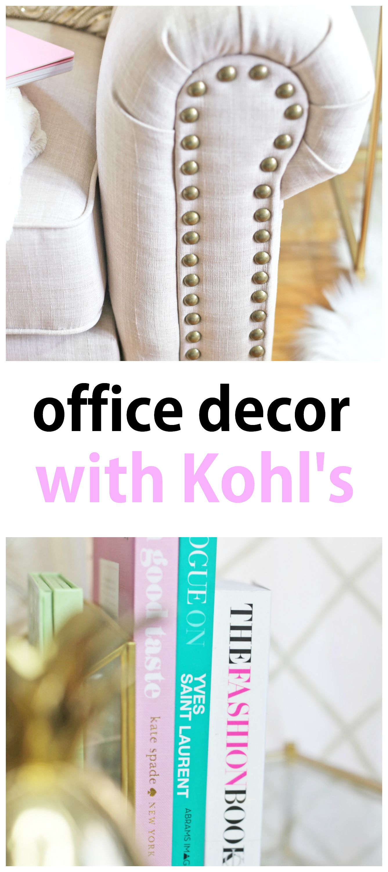 Attractive Decorate Your Office In Style With @kohls! From Stunning Furniture To Chic  Gold Home