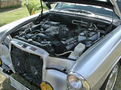 The holy grail of engine swaps a toyota supra 2jz engine swapped mercedes benz w108 engine swap 3 sciox Gallery