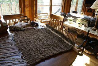 Hidden Bend Retreat Romney West Virginia Peg Loom Rugs
