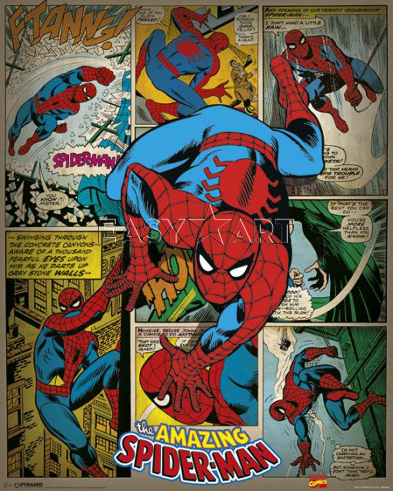 Free Comic Book Day Amazing Spider Man: Vintage Spiderman Comic - Google Search