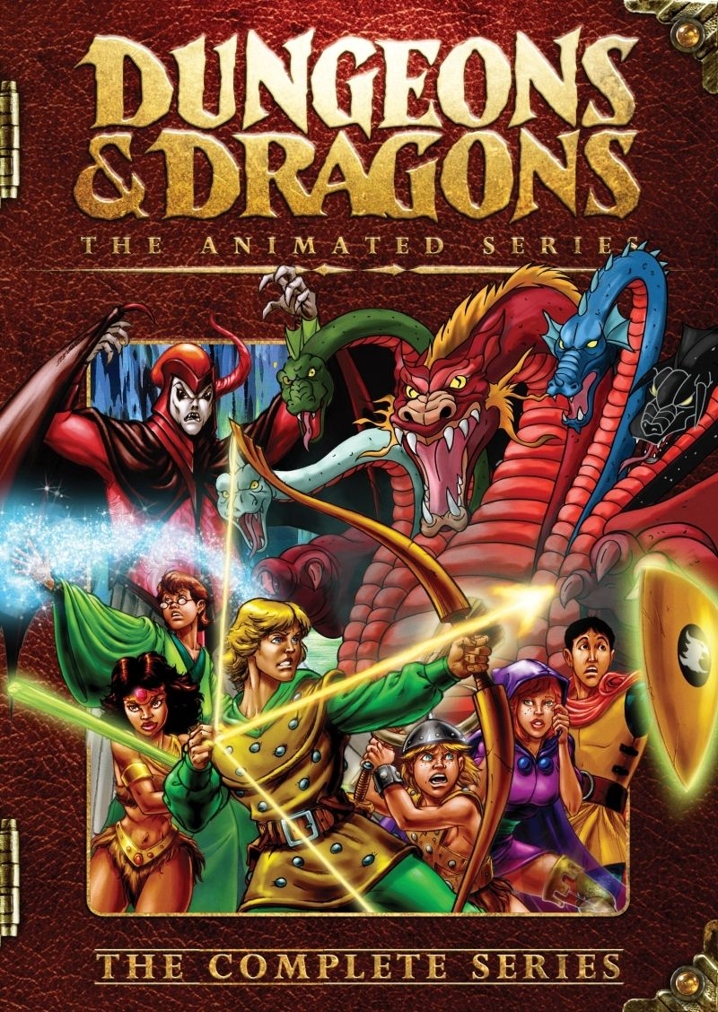 "Dungeons and Dragons (1983-1985) ""Caverna do Dragão"""