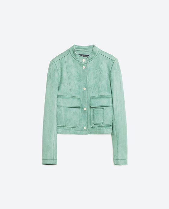 247937da0b Image 8 of SUEDE EFFECT JACKET from Zara | paris & london packing ...
