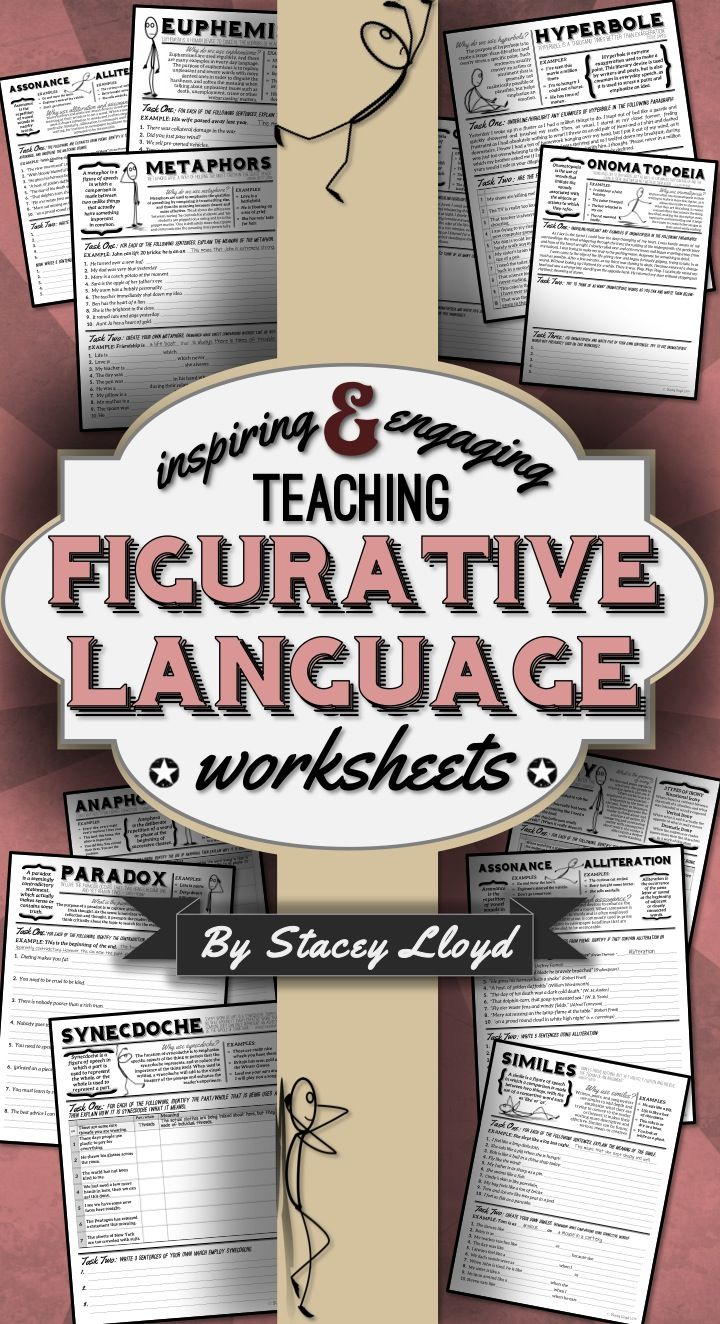 Do You Want To Help Your Students Understand Figurative Language Techniques These Worksheets Will Do Teaching Figurative Language Language Worksheets Teaching [ 1324 x 720 Pixel ]