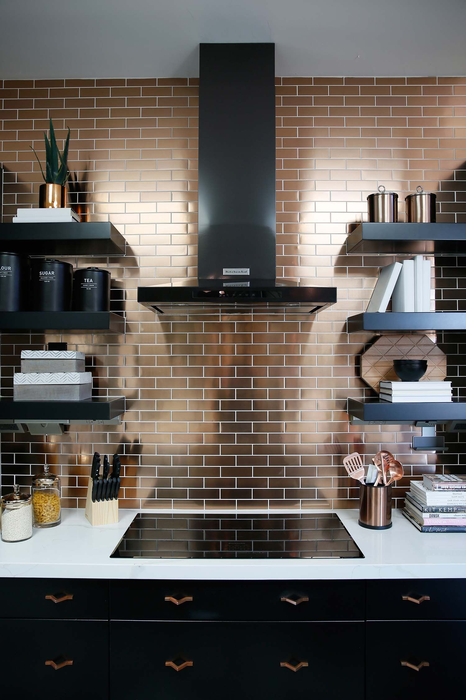 6 Outstanding Kitchen Backsplash Ideas That Make You Feel Like a Professional Chef is part of White Home Accessories Country Kitchens - Cooking has always been a tasteful activity, but it depends on the ambiance given by your kitchen  If you are surrounded by goodlooking, wonderful kitchen backsplash, then cooking will always be amazing for you  That is why it is necessary for you, who make cooking as a hobby, to update yourself on the wonderful kitchen backsplash ideas  We all know that countertops and cabinets are taking the prominent space in the kitchen, but a thematic and lovable kitchen backsplash ideas bring much more difference to the kitchen and your mood while cooking as well  Hence, are you ready to feel like a professional chef, at least in your kitchen  Give yourself a touch of happiness with these marvelous kitchen backsplash ideas Kitchen Backsplash Ideas www eandstile com That black and honey barn wood will never get old to give a simple and minimalist look for your kitchen  Since it comes with the dark colors, so it won't easily look dull and dusty  If you are too busy with your activities and don't have too much time to clean your kitchen, you have to choose this style  Combined with white wood cabinets and white marble countertops, the ambiance of this kitchen is so