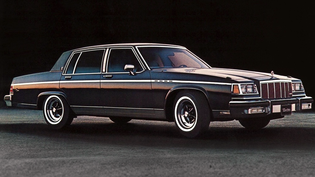 10 Most Expensive American Sedans Of 1980 Buick Electra Buick