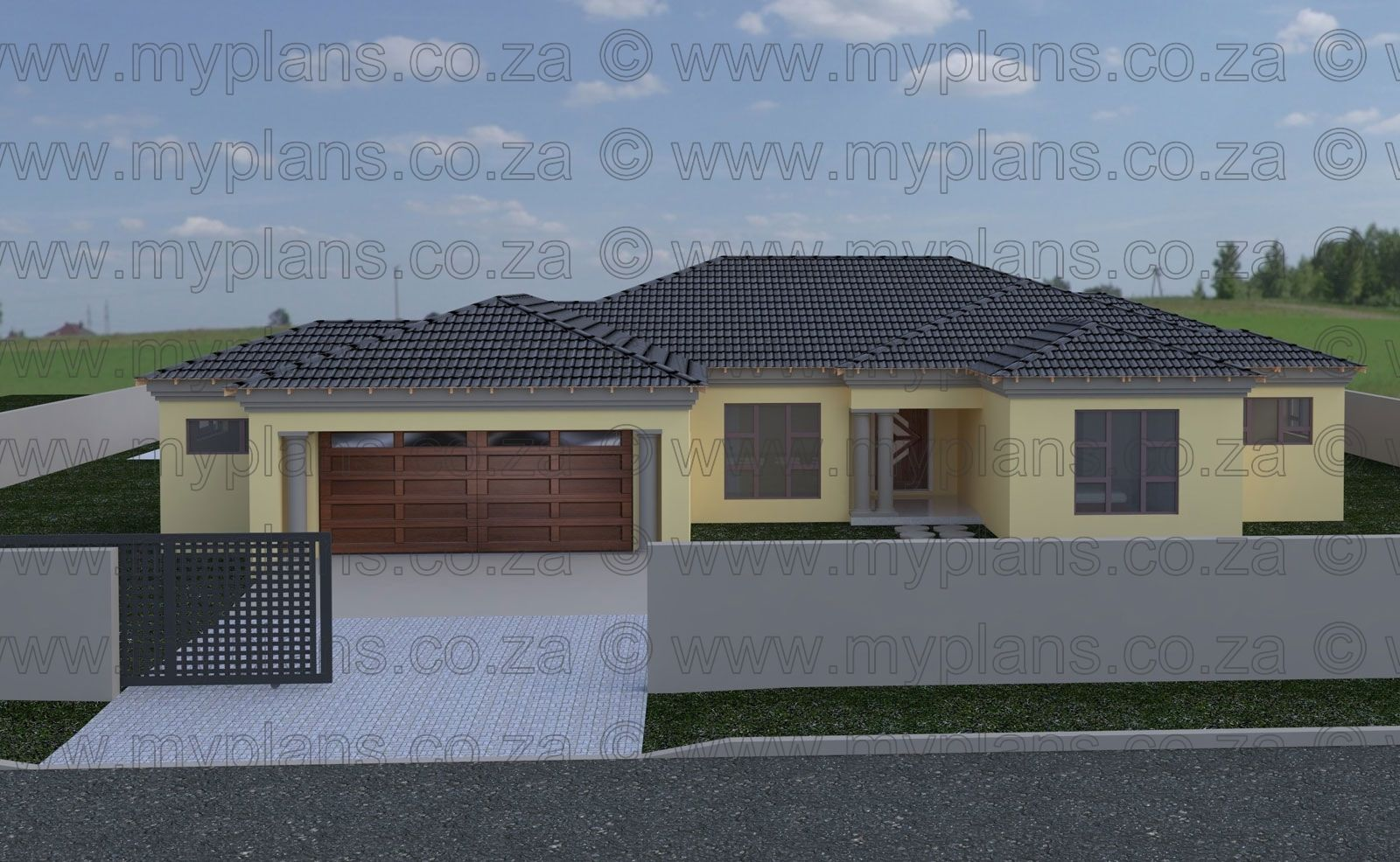3 Bedroom House Plan Mlb 069s My House Plans Bedroom