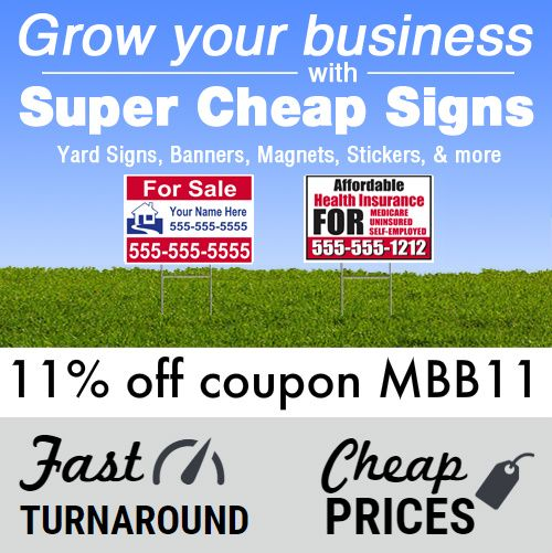 About Super Cheap Signs