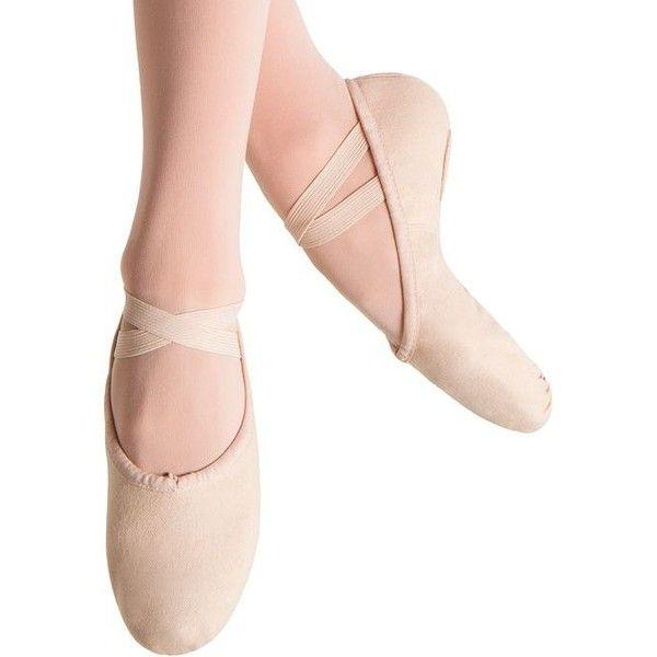 Bloch Girls Pump Split Sole Canvas Ballet Shoe//Slipper Pink,