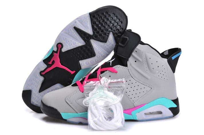 Cheap Nike Air Jordan XI 6 New Releases Womens Basketball Shoes Grey Pink  Popular Super Specials