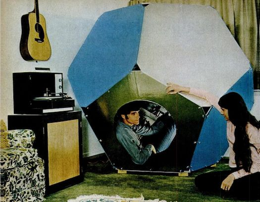How To Build Your Own Trippy Meditation Pod From 1970 | It ...