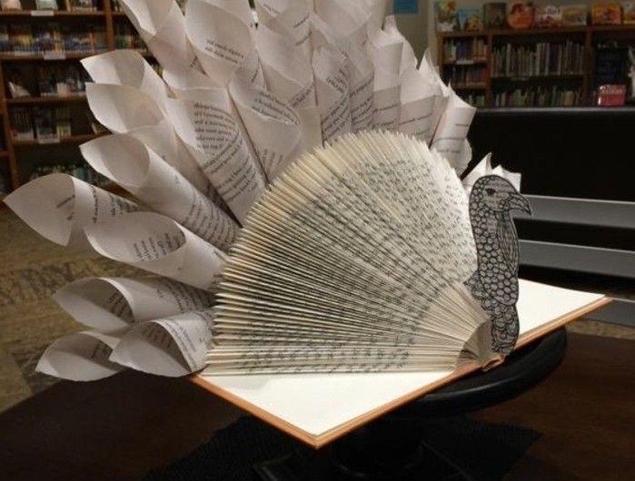 1001 id es originales de pliage de livre des formes faciles livre origami origami et oeuvres. Black Bedroom Furniture Sets. Home Design Ideas