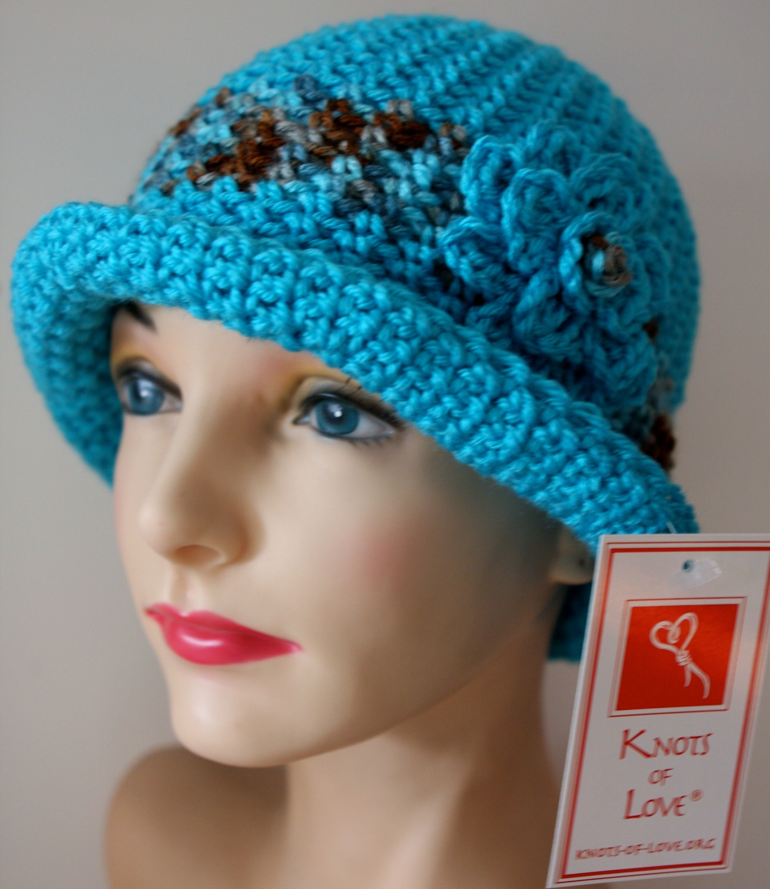 crochet adult beret patterns for cancer patients - Google Search ...