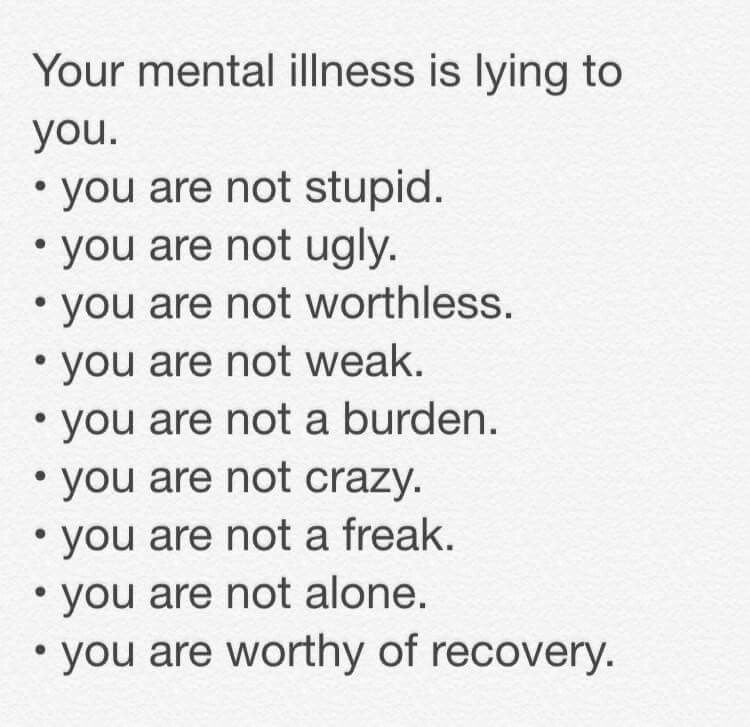 mental illness how to help