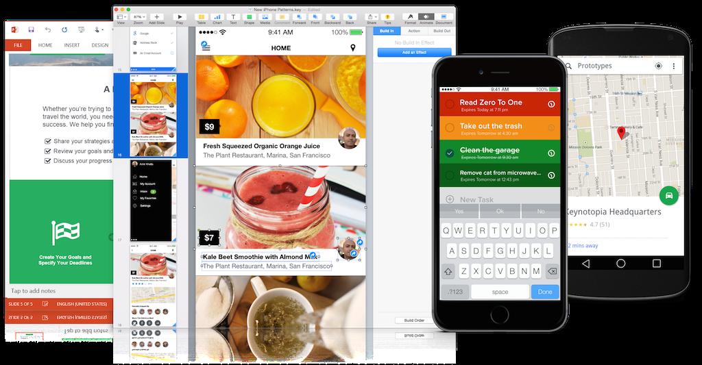 keynotopia keynote and powerpoint - Mobile Mockup Tools