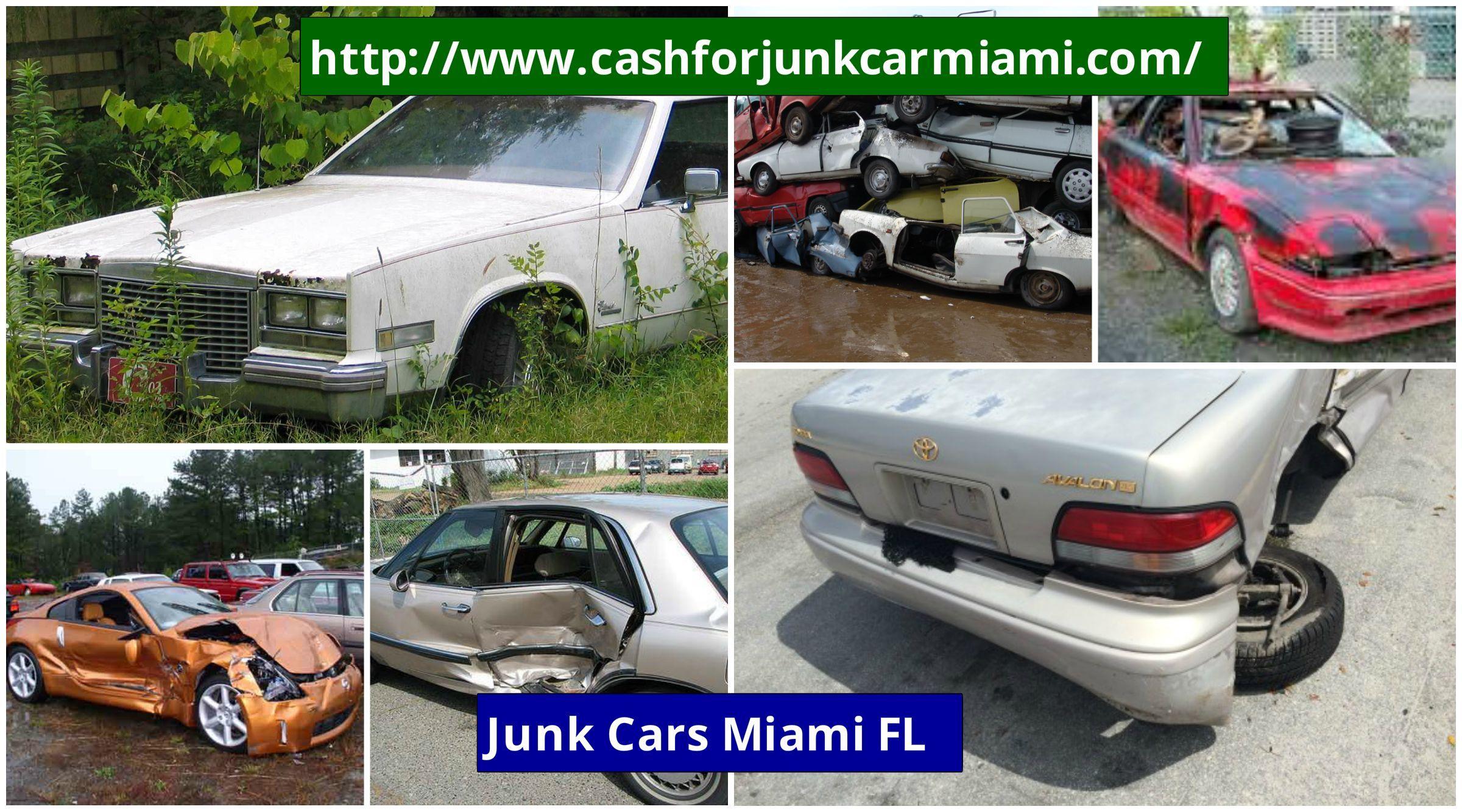 http://www.cashforjunkcarmiami.com/ Junk cars Miami FL helps ...