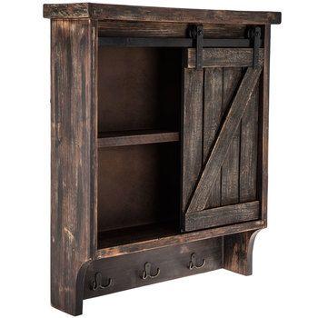 Sliding Door Wood Wall Cabinet | Wall cabinet, Wood doors ...