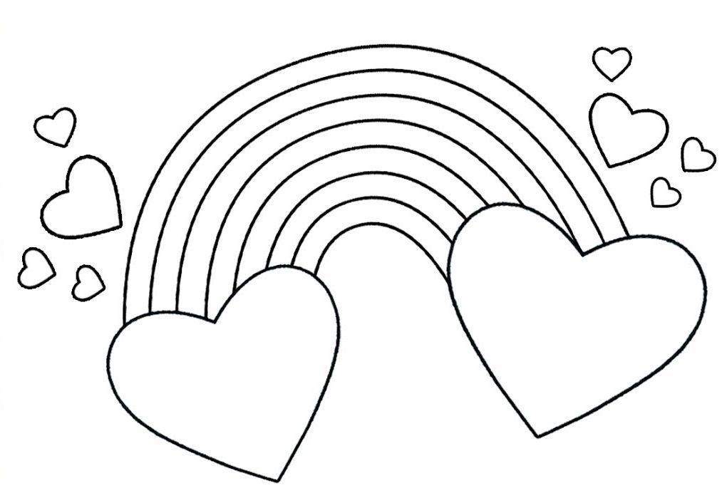 Pin Auf Rainbow Hearts