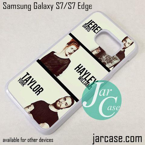 Paramore Crews Phone Case for Samsung Galaxy S7 & S7 Edge