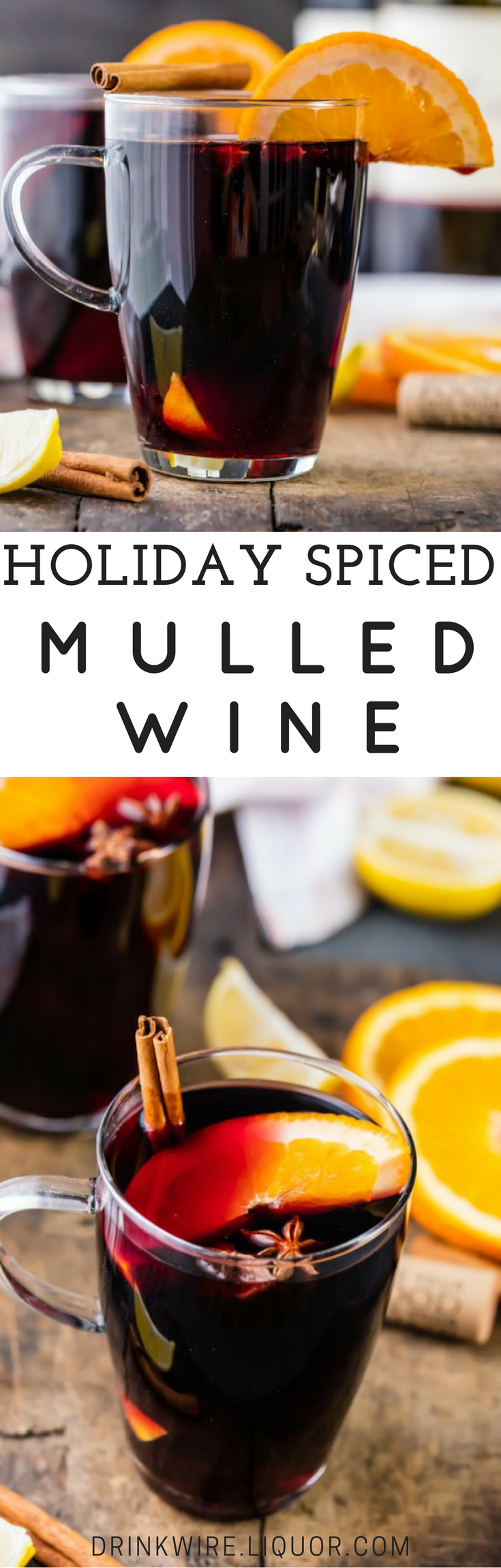 com Winter cocktails, Cocktail recipes, Mulled wine