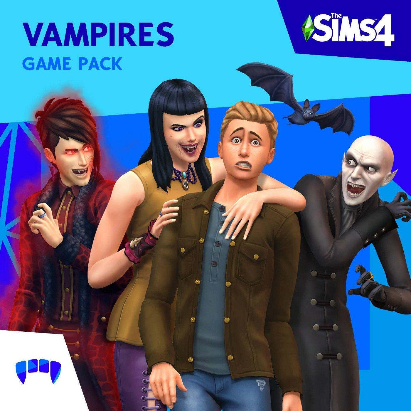 The Sims 4: Vampires Game Pack - PlayStation 4 (Digital