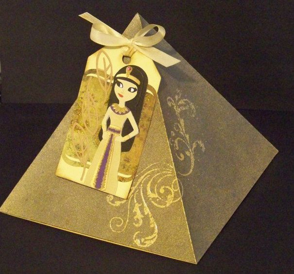 Gift Wraps Tags And A Bag Egyptian Themed Party Egyptian