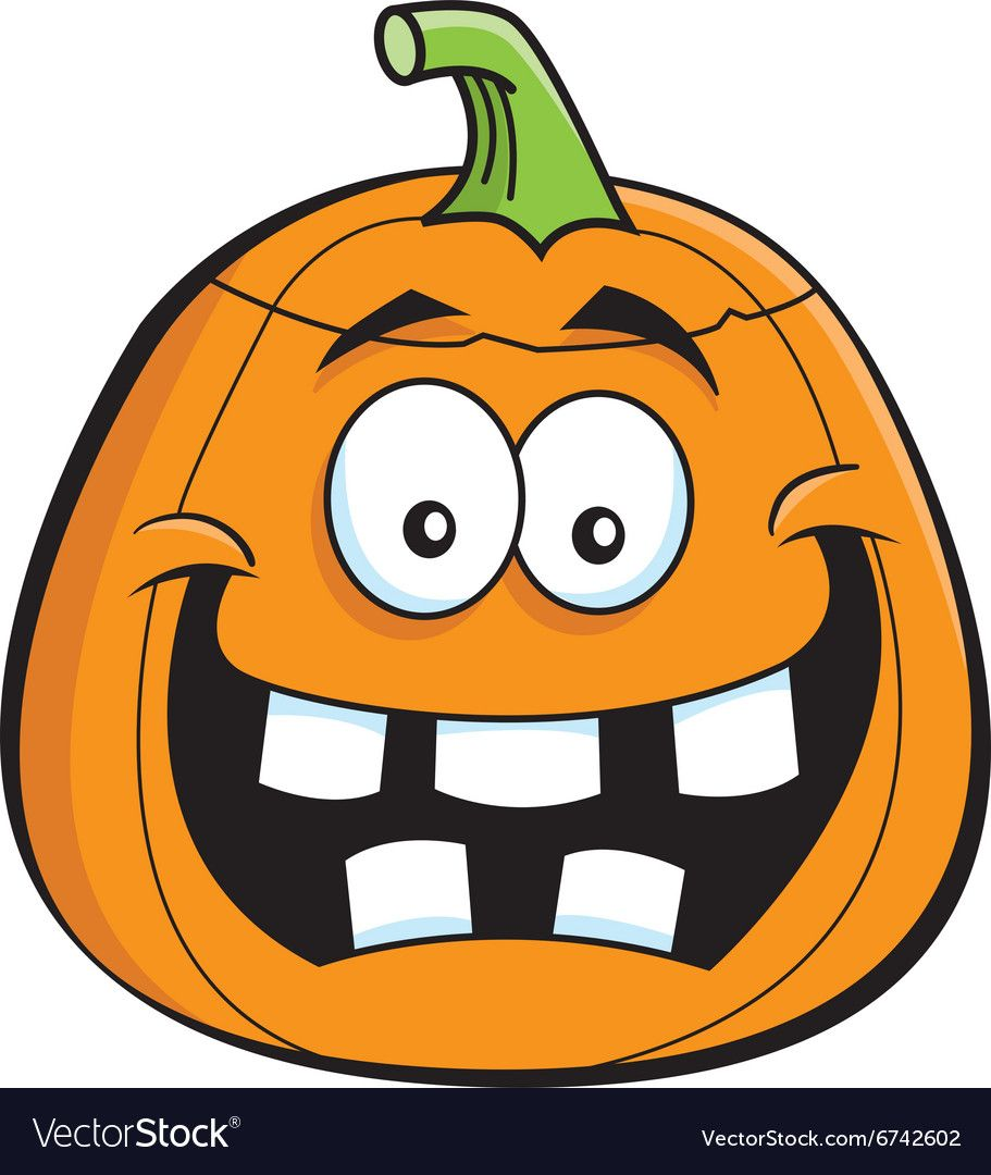 Cartoon Jack O Lantern vector image on VectorStock Jack
