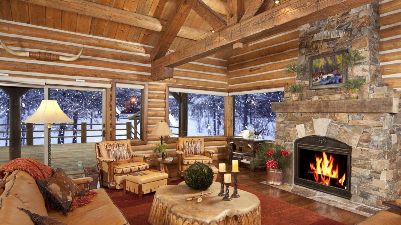 Room Ideas Living Room Rustic Ideas For A Cozy Organic Decorating Rooms Design Rustic Small Cabin Liv Cabin Living Room Cabin Living Room Decor Log Home Living