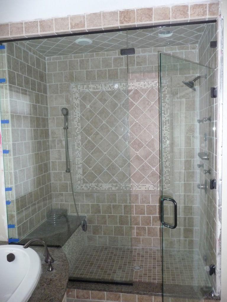 Steam shower ideas steam shower door steam cleaning for Build steam shower