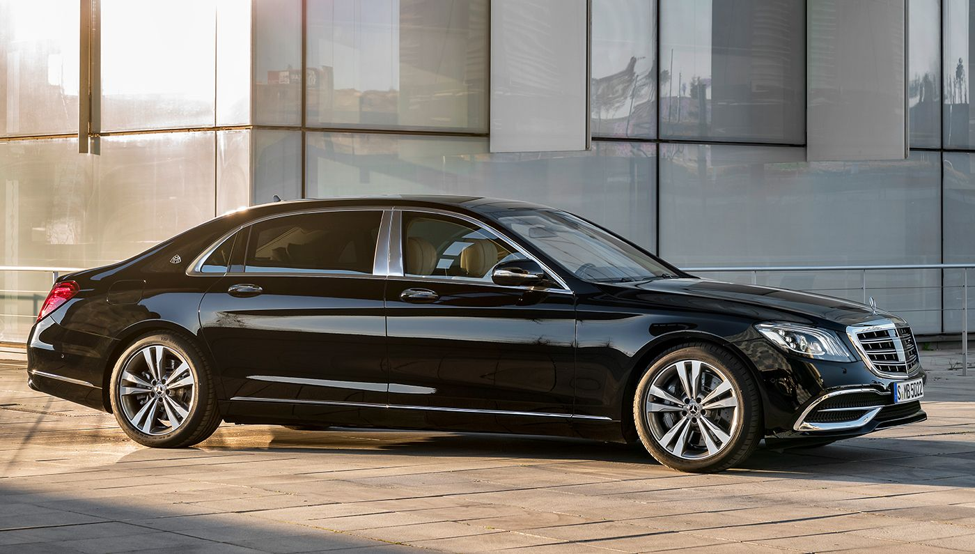 The New Mercedes Benz S Class Sedan Debuts In Shanghai With