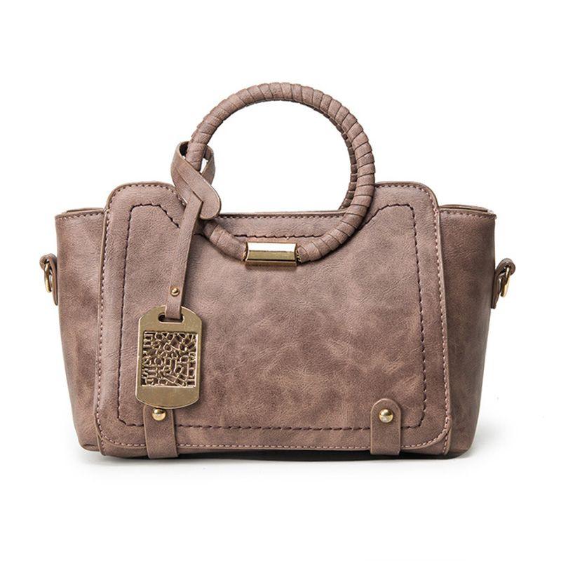 Vintage Women Retro Handbag Messenger Bags Thread Quality Ladies Casual Tote Bag Women Pu Leather Shoulder Bag Cross Body Sac