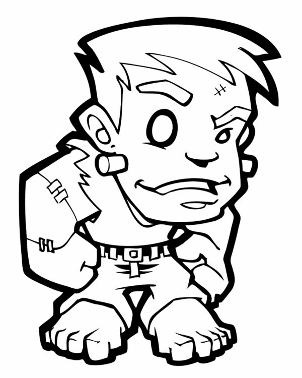 Little Frankenstein Coloring Page Download Print Online Coloring Pages For Free Color Nimbus Halloween Coloring Coloring Pages Halloween Pictures To Draw