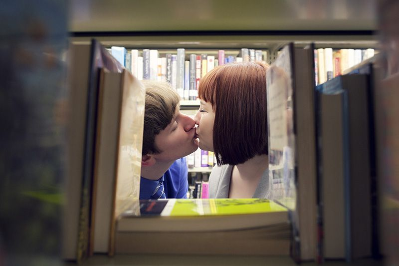Engagement Photo @Vincent Goodwin and I at Landa Library in San Antonio, TX <3   Photography by www.DaniaNichole.com