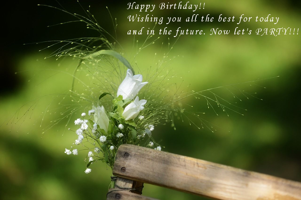 Birthday Flower Card Quotes Birthday Messages Pinterest