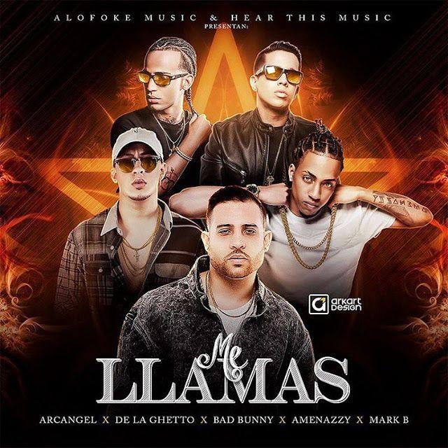 Nueva Musica Arcangel Ft De La Ghetto Bad Bunny Amenazzy Urban Music Reggaeton Daddy Yankee