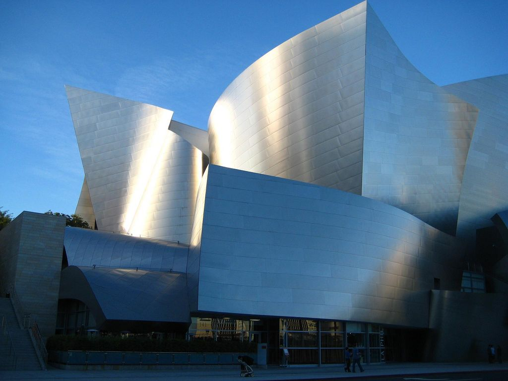Famous modern architecture steel buildings california Famous contemporary architects