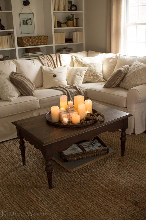 Centre Table Designs For Living Room: Four Simple Ways To Style Your Coffee Table