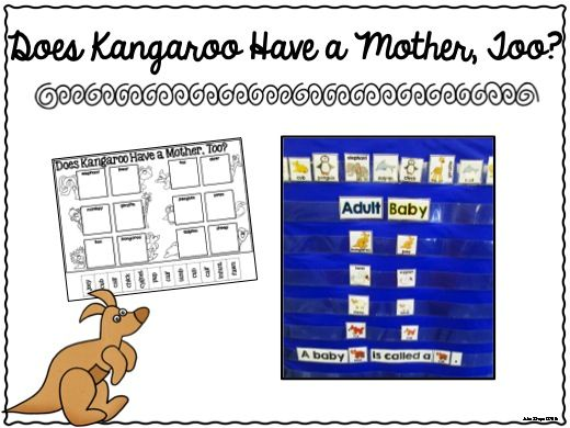 Activities for Does Kangaroo Have a Mother, Too?  300+ pages of crafts, printables, ELA activities and Math Activities to learn about the author Eric Carle {perfect for an Eric Carle author study in Kindergarten!}