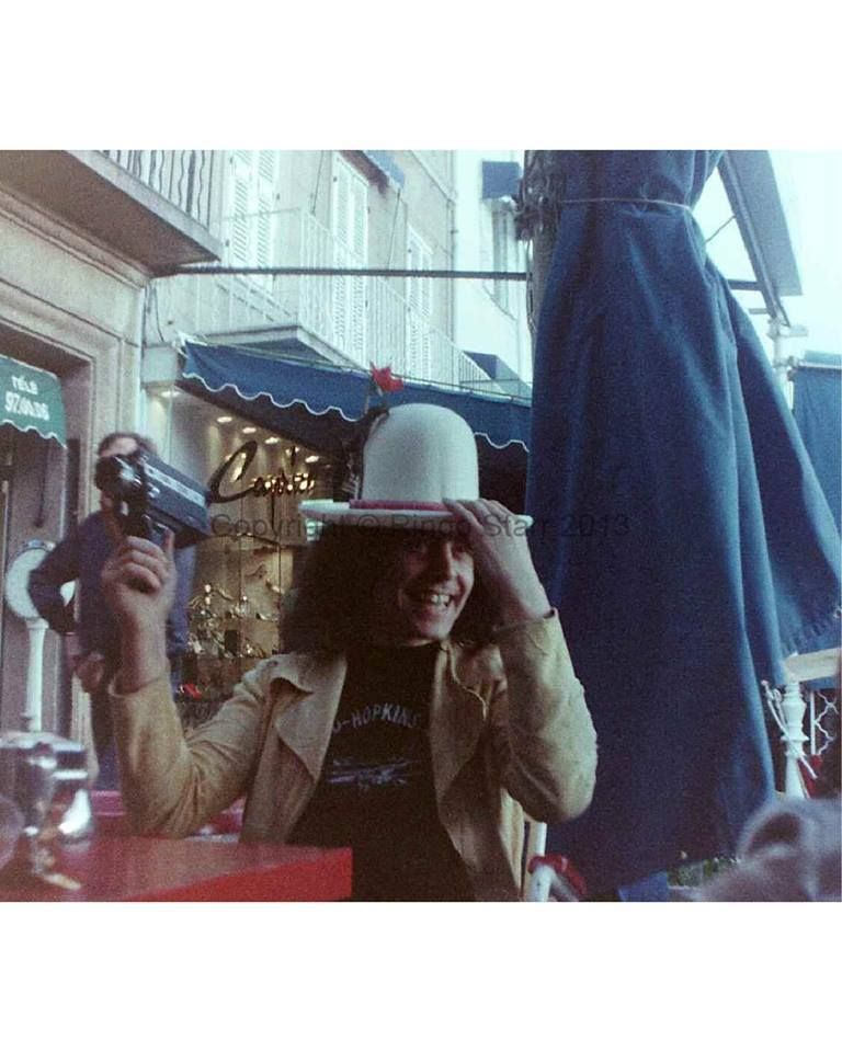 Marc Bolan Photo Taken By Ringo Starr 1972