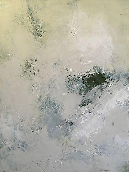 Winter Dawn by Graham McArthur Oil and Wax ~ 60cm x 45cm